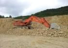 escavatore cingolato HITACHI RX 700